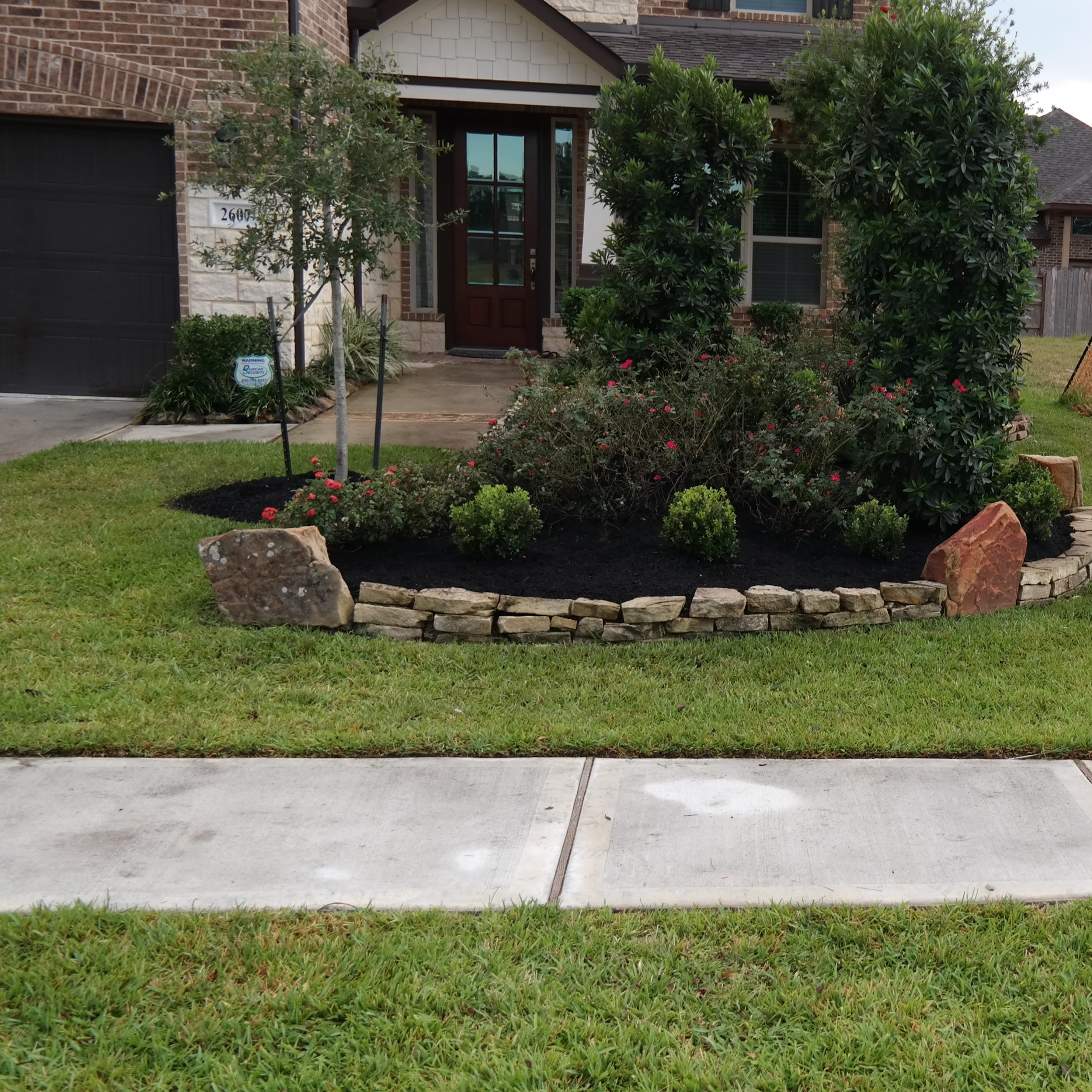 Houston residential commercial landscaping services for Commercial landscaping companies